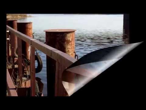 Ригa на  берегу Рижского залива .