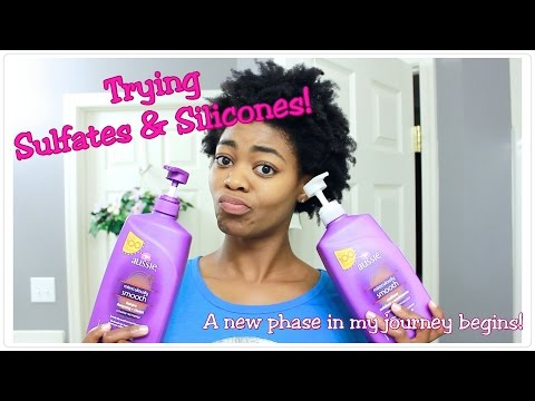 Trying Sulfates & Silicones! - A New Phase In My Journey Begins! - 4C Natural Hair - Natural Hair