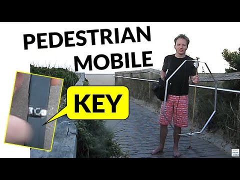 A slim key for pedestrian mobile CW
