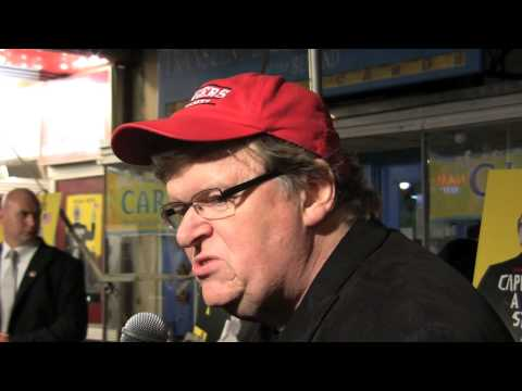Michael Moore Talks Capitalism at DC Premiere of New Flick