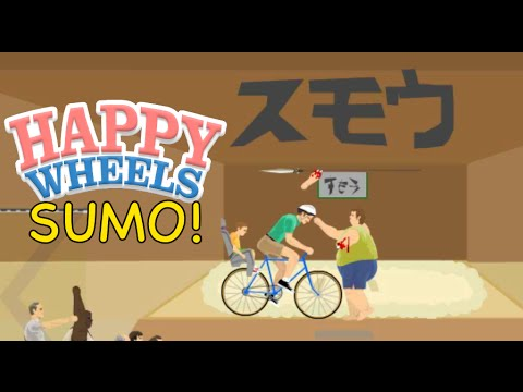 HAPPY WHEELS SUMO WRESTLING!