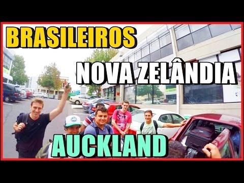 #34 Brasileiros em Auckland, Novo emprego, Nova Zelândia