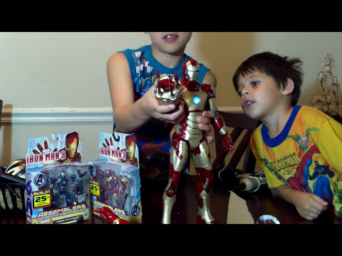IRON MAN TOYS IRONMAN UNBOXING REVIEW