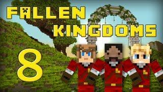 Fallen Kingdoms : Frigiel, Zelvac, Playfan | Jour 8 - Minecraft