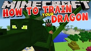 Minecraft - HOW TO TRAIN YOUR DRAGON - Donut's Dragon (3)