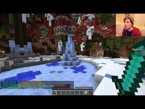 Minecraft | HIDE N SEEK : LIVING ROOM EDITION!! | Minigame