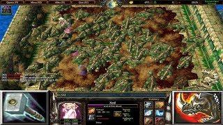 Warcraft 3 | Custom Hero Survival v2.6c | XEXIL | JUST 2 SKILLS | PERMA STUN | STAMPEDE