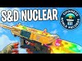 WORLDS FIRST SEARCH AND DESTROY NUCLEAR! - NUCLEAR in SEARCH AND DESTROY! (COD BO4 S&D NUKE)