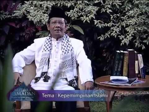 Mahfud MD_ Kepemimpinan Islami