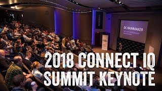 DCR Sports Tech Keynote - Connect IQ Summit 2018