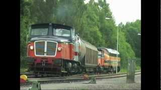 Shunting in Bofors (Trains in Sweden in 2005 part 9)