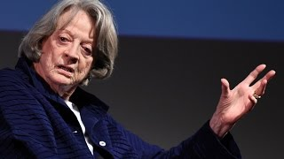 "Maggie Smith: ""I led a perfectly normal life until Downton Abbey"""