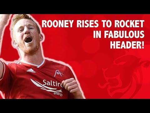 Rooney rises to rocket in great header!