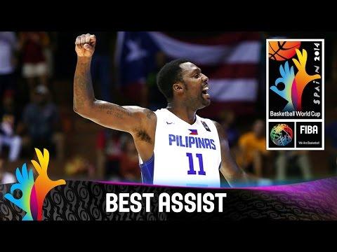 Philippines v Puerto Rico - Best Assist - 2014 FIBA Basketball World Cup
