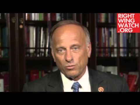 Rep. Steve King Claims Undocumented Immigrants Mostly '130-Pound' Drug Runners