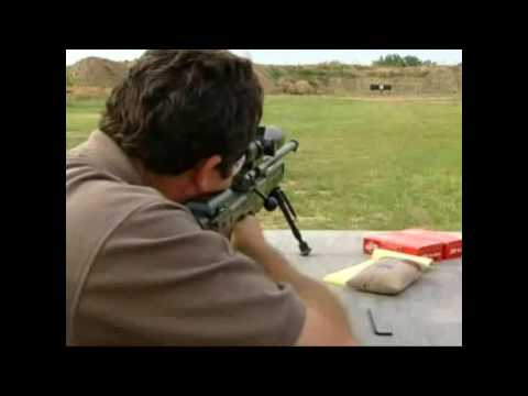 Accuracy International rifle Demo pt2
