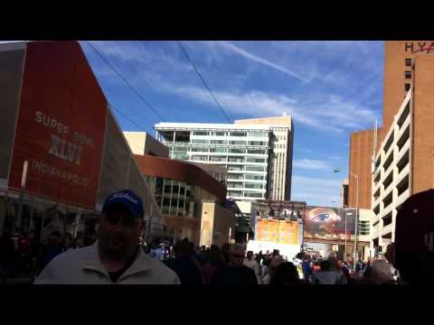 Zip Lining At Super Bowl in Indianapolis