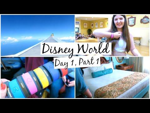 Disney World Vlogs 2016   Day 1, Part 1   Travel & Saratoga Springs Apartment Tour