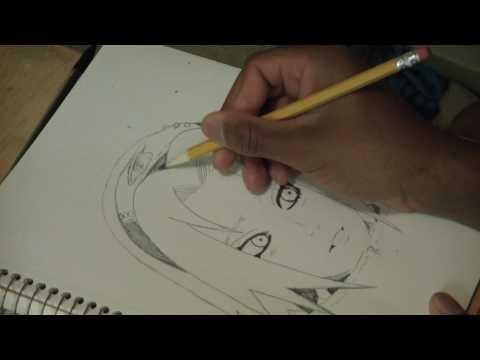 Видео как нарисовать Сакуру из Наруто