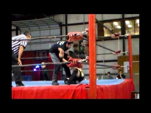 LWA - Zapata, Tx - Triple Threat Match - Robert Murdock vs Spartan vs Cowboy Ed - 7/13/2013