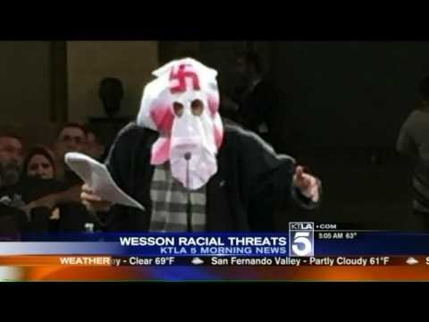White Attorney Dresses Up in KKK Hood to Threaten Black City Council President
