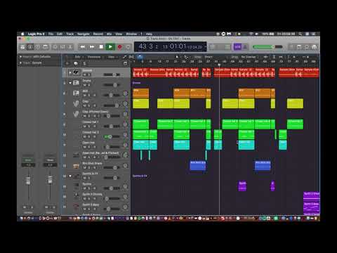 Travis Scott - 5% TINT (Logic Pro X Instrumental Remake with Downloads)