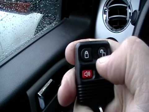 How To Program The Keyless Remote On Ford Expedition