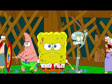 Spongebob Zombie Attack Pt3