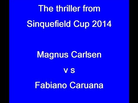 The Thriller From Sinquefield Cup 2014:  Carlsen V  Caruana video