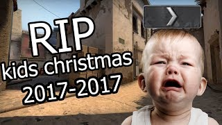CS:GO SILVER FUNNY MOMENTS - DESTROYING A KIDS CHRISTMAS, LOGAN PAULS NEW SONG IS AMAZING
