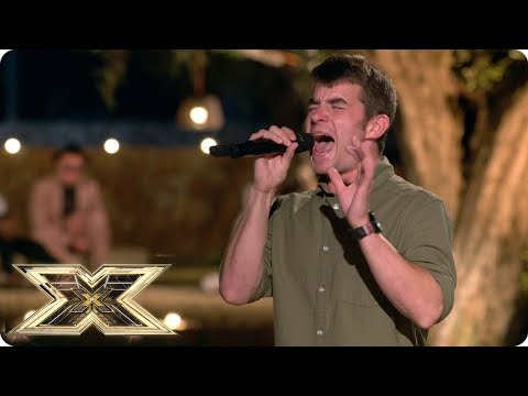 Anthony Russell sings James Bays Scars  Judges Houses  The X Factor UK 2018
