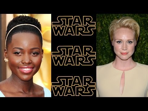 Lupita Nyong'o and Gwendoline Christie cast for STAR WARS Episode VII
