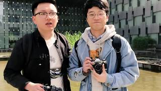 [HJX_TV] Minolta X-700 vs Canon AE-1 Program Street Shooting