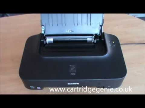 Canon Pixma iP2702: How to set up and install ink cartridges