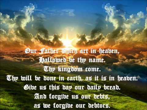 Unknown - Pater Noster Lords Prayer - Latin