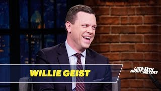 Donald Trump Used to Call Willie Geist to Gossip