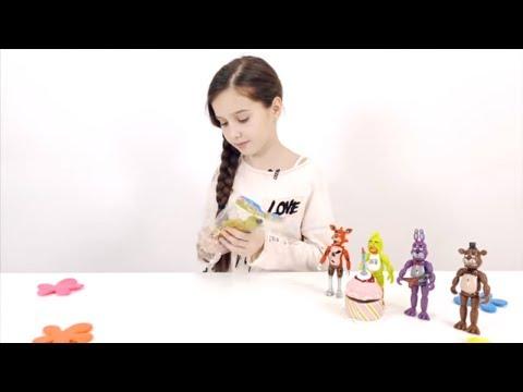 ЛЕРА и АНИМАТРОНИКИ ПЯТЬ НОЧЕЙ С ФРЕДДИ #ФНаФ Распаковка игрушек Видео для детей