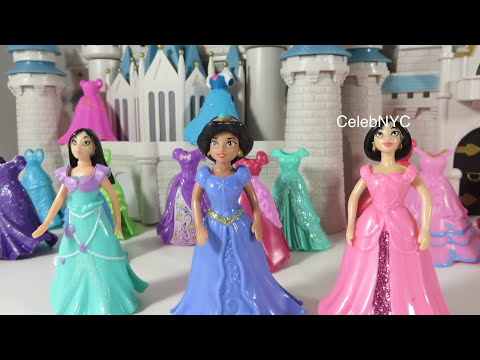 Rare MAGICLICP Mulan Pocahontas Jasmine Disney Princess Little Kingdom exclusive Fashions dolls
