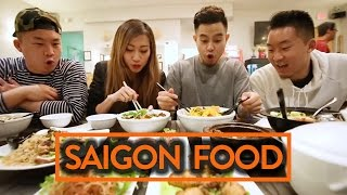 VIETNAMESE FOOD (SAIGON STYLE) W/ RICHIE LE & LEENDA D - Fung Bros Food