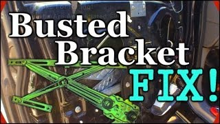 Fixing A Broken Window Track | 1999 Ford Expedition Regulator Repair w/ EXOcontralto