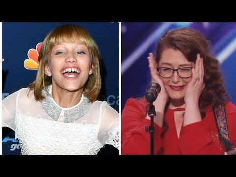 Grace VanderWaal Gushes Over Deaf AGT Singer Mandy Harvey | Hollywire