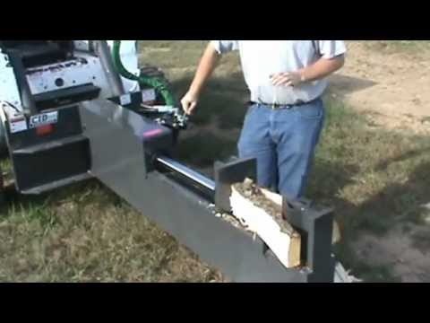 NEW CID Xtreme 30 TON Log Wood Splitter For Skid Steer Loader Bobcat For Sale Mark Supply Co