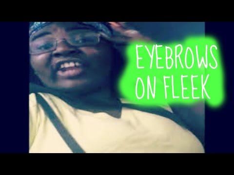 Eyebrows On Fleek Vine By Peaches Monroee video