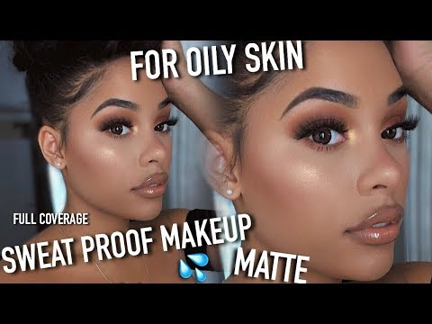 MY EXTREMELY MATTE. SWEAT PROOF. OIL PROOF. FULL COVERAGE MAKEUP ROUTINE