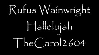 download lagu Rufus Wainwright - Hallelujah Lyrics gratis
