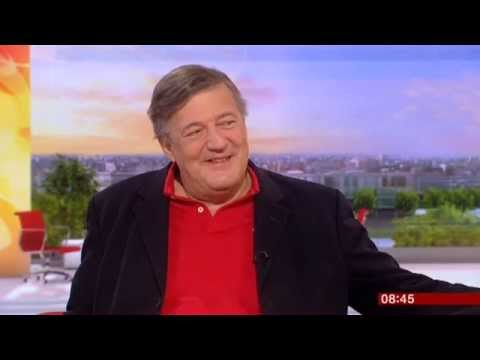 Stephen Fry More Fool Me Interview BBC Breakfast 2014