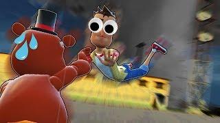 RADIOACTIVE POISON TORNADO SURVIVAL?! (Garry's Mod Gameplay & Gmod Roleplay) TORNADO BASE BUILDING!