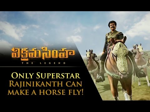 Only Superstar Rajinikanth Can Make A Horse Fly!
