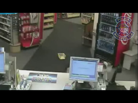 Caught on Camera: Customer inside Sarasota CVS tackles would be robber