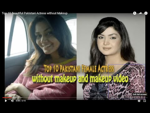 Top 10 Beautiful Pakistani Actress without Makeup